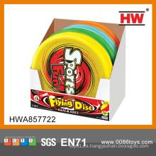 El nuevo modelo embroma el juguete del disco volador de la tela 16 pulgadas 12pcs / box frisbee grande