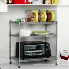 DIY Mini Metal Corner Kitchen Pantry Rack Organizer
