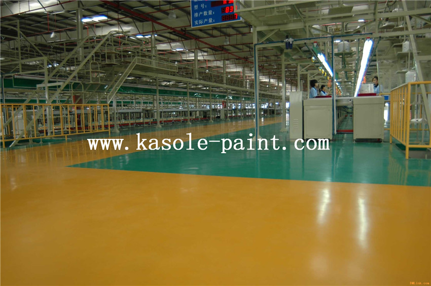 Yellow Epoxy Topcoat Resin Material