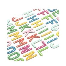 O presente relativo à promoção dado forma dado forma imprimiu a folha da etiqueta da impressão, etiqueta inchado do vinil da decoração da letra