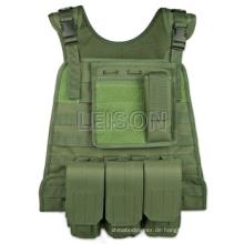 1000d Cordura oder Nylon Militär Taktische Weste SGS Standard
