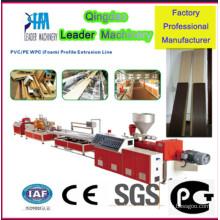 Línea de producción de WPC (compuestos plásticos de madera)