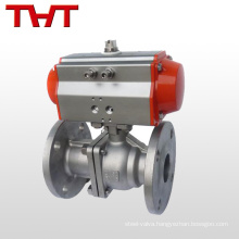 Pneumatic Actuated stainless steel compact ball valve