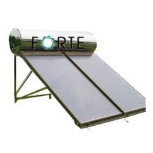Плоская пластина Солнечный коллектор с медной теплообмена