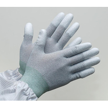 ZM 13Gauge Antistatische Carbonfaser ESD Top Fit Handschuhe für den industriellen Einsatz