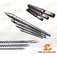 Einzelne Schnecke und Zylinder für Spritzguss-Kunststoffprodukte