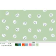 Drucken 100% Polyester Microfaser gebürstetes Gewebe für Bedsheet