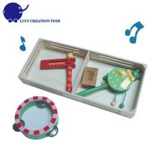 Wooden Musical Instrumental Assortment for kids