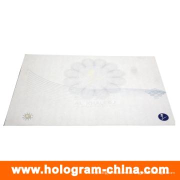 Anti-Fälschungs-Wasserzeichen und UV-Hologramm-Sicherheitszertifikat