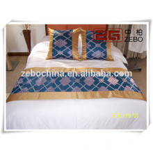 2014 Newest Style Jacquard Hotel King Size Bed Runner