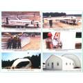 Color acero Metal Arch techo máquina de construcción