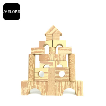 Melors EVA Educational Kids Schaum Holzbausteine