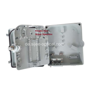 Wasserdichte 12 Port Fiber Optic Junction Terminal Box