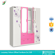 India customized clothes storage cabinet stainless steel locker