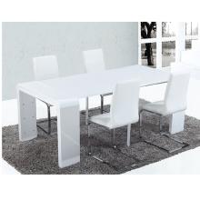 Mesa de jantar com cadeiras giratórias com pedestal de 10 lugares