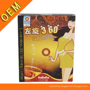 Popular L-Carnitine Natural 360 Slimming Coffee
