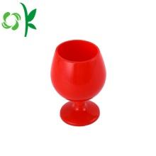 Coupe de verres à vin personnalisé gobelet en silicone pour le vin