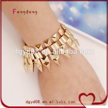 moda jóias 2015 moda pulseira de mulheres de aço inoxidável para venda