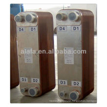 coxial heat exchanger freon water,equal alfa laval cb27