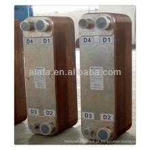 brasados permutador de calor, trocador de calor para aquecimento de piso