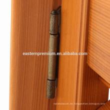 Persianas de madera de la ventana del cedro rojo de madera directo del fabricante