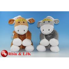 OEM weiche ICTI Plüsch Spielzeug Fabrik Esel Plüschtier