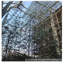 Échafaudage pour structure de construction