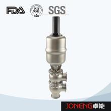 Stainless Steel Sanitary Flow Change Over Valve (JN-FDV1005)