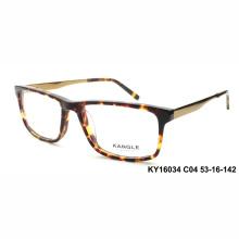 Hohe Qualität Man Acetat optische Rahmen und Brillen Brillen