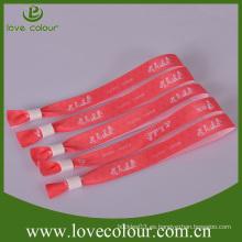 Wristband de la impresión de la sublimación del festival de la alta calidad para los regalos