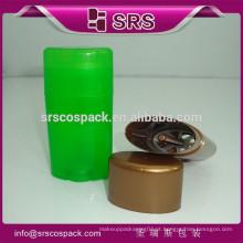 Venda Por Atacado PP pequeno gel branco tubo de embalagem de enchimento e 15g 50g 75g vazio desodorante plástico garrafas vazias