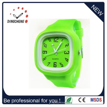 Relógio do silicone de Movt do preço barato barato de alta qualidade (DC-1023)