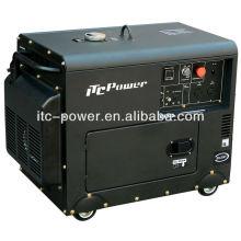 Mini generador de energía portátil Diesel de 5 kw