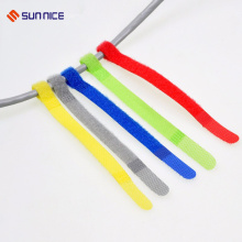 Heat Resistance Adhesive Hook Loop Cable Ties