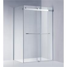 Estándar americano Frameless que resbala la pantalla del recinto / de la ducha de la ducha (A-KW022)