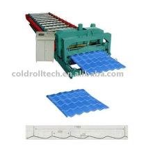 YX28-220-1100 telha de aço dá forma à máquina