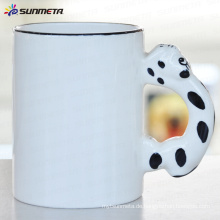 Sublimation Tier leere Becher Hund