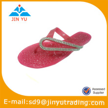 2014 schöne pvc Kristall Schuhe