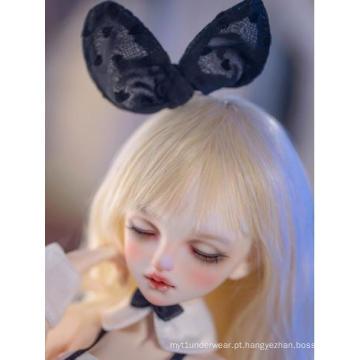 BJD Mini boneca feminina transparente com articulação esférica de 43 cm