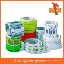 Made in China customiz self adhesive labels,adhesive labels for plastic bottles,labels for glass bottles,plastic bottle sticker