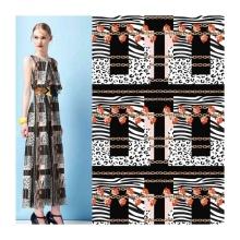 Digital Print Georgette Plain Polyester Chiffon Fabric