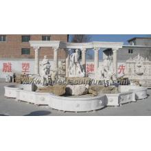 Fonte do jardim com o material do granito de mármore da pedra (SY-F261)