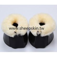 Bottes Bell en cuir artificiel avec doublure en peau de mouton