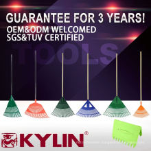 China Professional 22 Teeth Grass Rake Types Of Garden Rakes