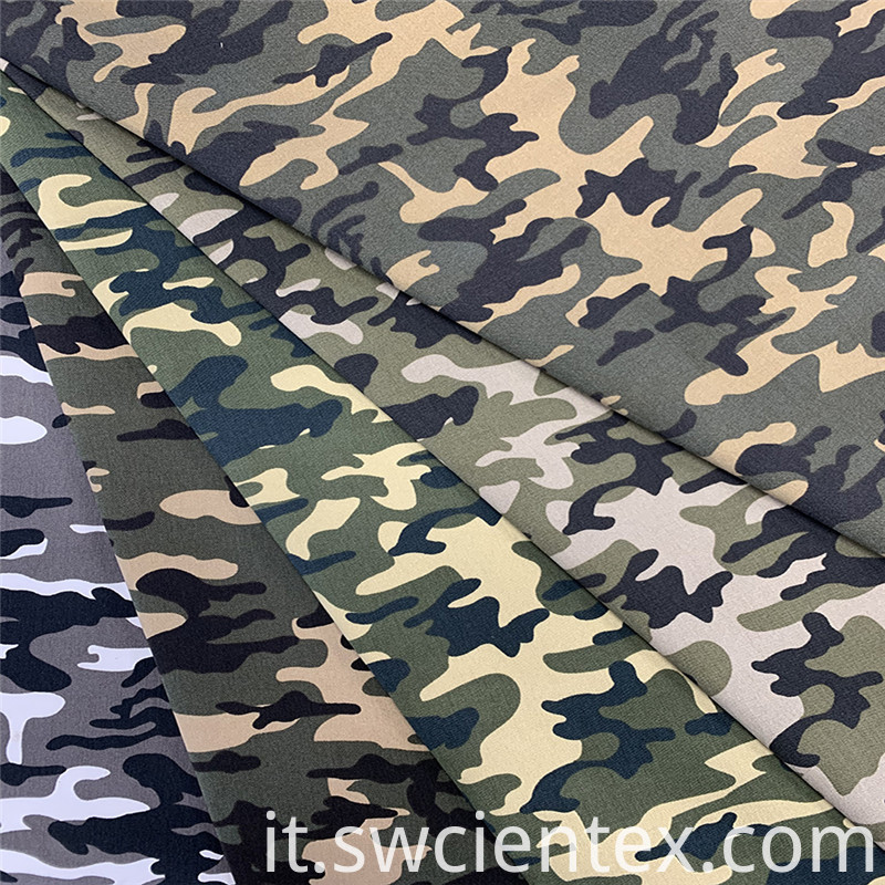 Camouflage Printed Fabric 2