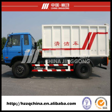 Caminhão de transporte de lixo seguro (HZZ5140XLJ) vende bem em todo o mundo