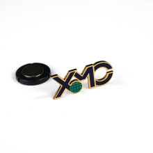 China Manufacturer Button Badge Cheap Printed Irregular Design Logo Metal Pin Badge