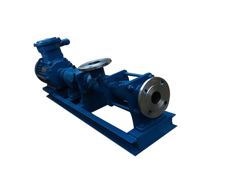 Explosion-proof single screw pump G type single screw pump (shaft stainless steel) corrosion-resistant single screw pump 2_