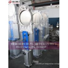 JIS 10k Knife válvula de portão para a indústria de tratamento de água