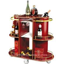 Hotel Wine Serving Cart Hôtel Liquor Trolley